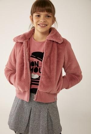 Jacket fur for girl_1