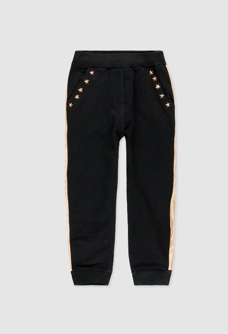 Pantalón felpa de niña_1