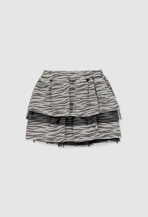 Skirt bambula for girl_1