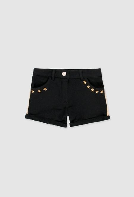 Fleece shorts fake fur for girl_1