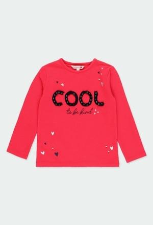 """Camiseta punto elástico """"cool"""" de niña_1"""