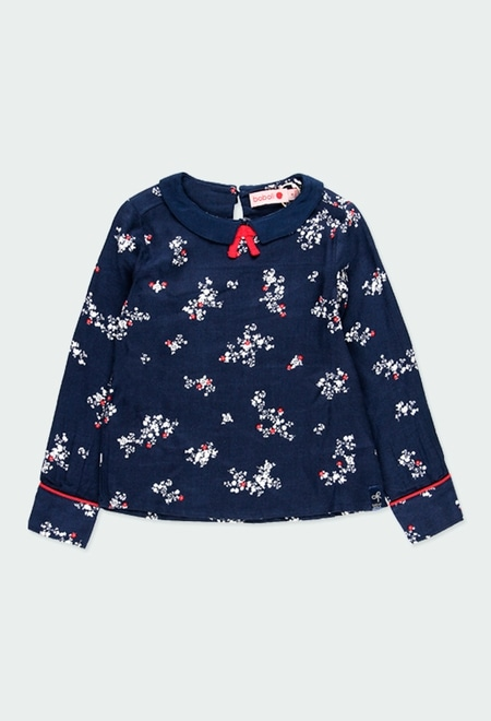 Blusa floral para menina_1