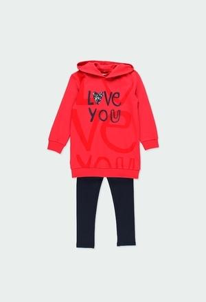 """Pack en tricot """"bbl love"""" pour fille_1"""