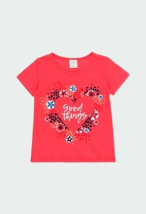 """Pack knit """"heart"""" for girl_1"""
