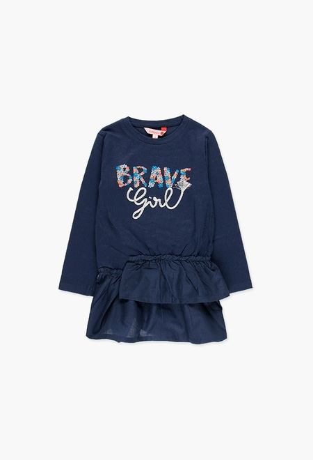 Robe flame pour fille_1