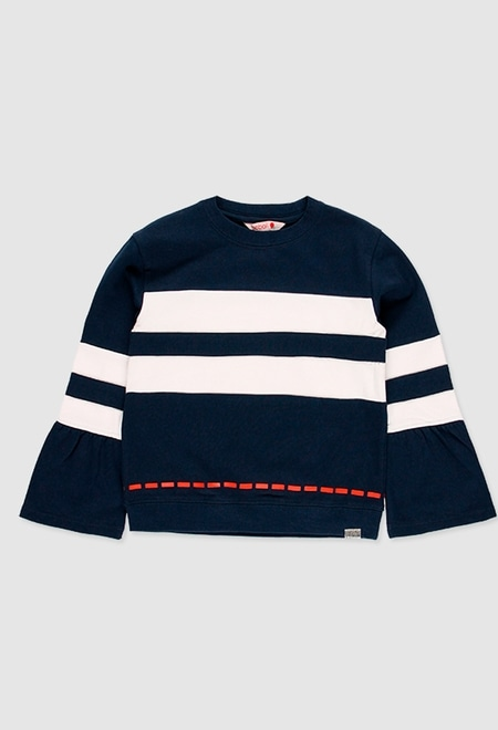 Sweatshirt plüsch für mädchen_1