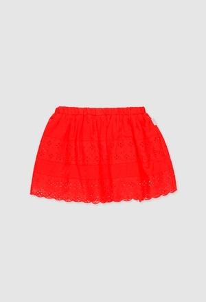 Batiste skirt combined for girl_1