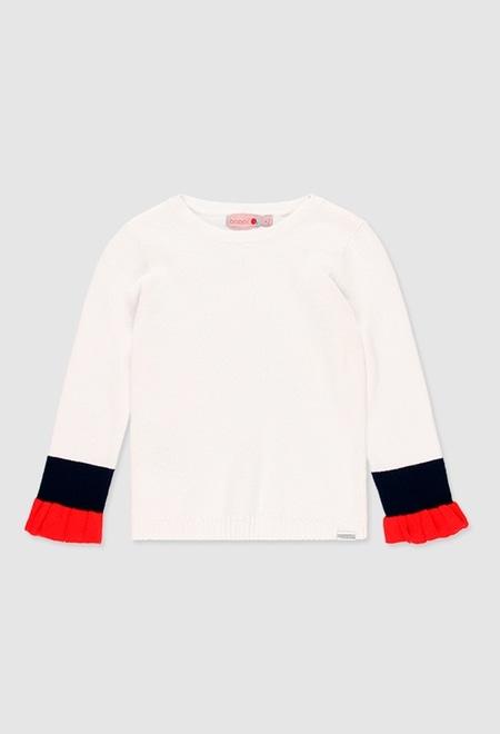 Strick pullover für mädchen_1