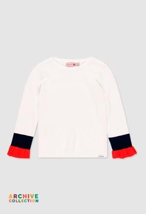 Pullover tricot para menina_1