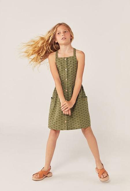 Poplin dress for girl_1
