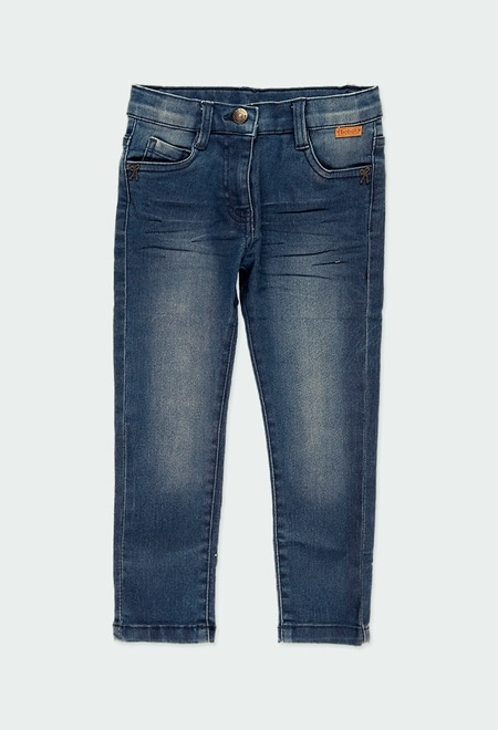 Jeans stretch pour fille_1