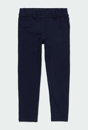 Pantalon en molleton stretch pour fille_1
