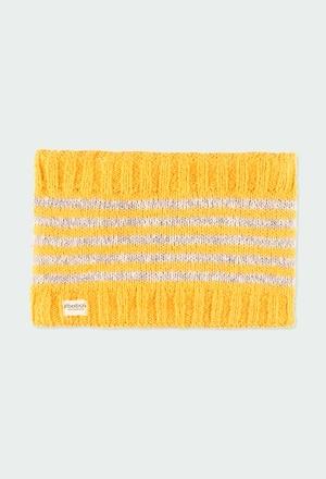 Neck warmer striped for girl_1