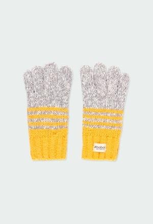 Knitwear gloves for girl_1