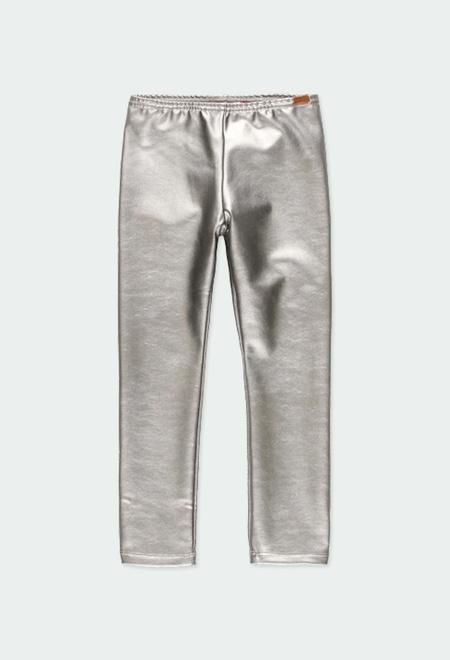 Leggings cuir synthétique pour fille_1