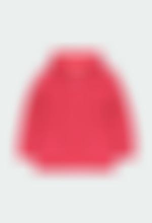 Casaco tricot básico para menina