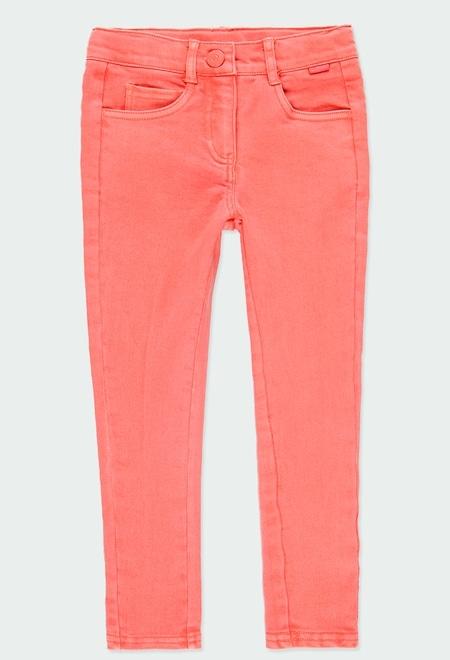 Pantalon en toile maille pour fille_1
