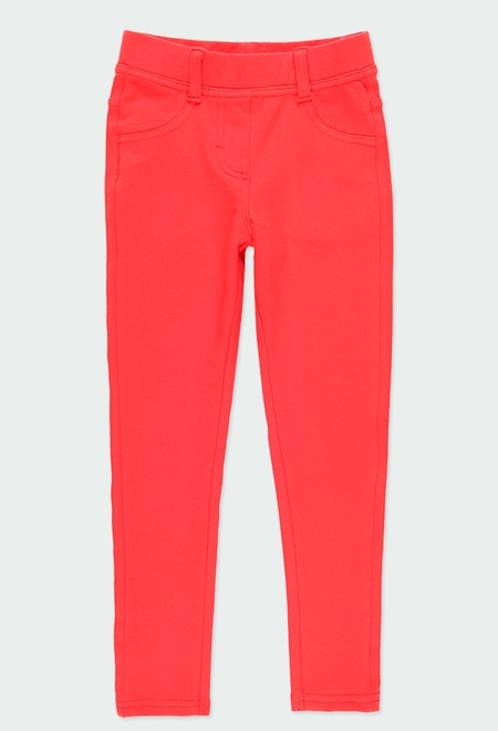 Pantalon en molleton stretch pour fille_1
