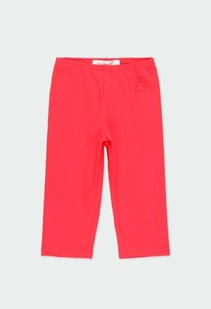 Stretch leggings 3/4 for girl_1