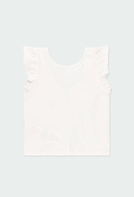 Camiseta malha el?stica para menina_1