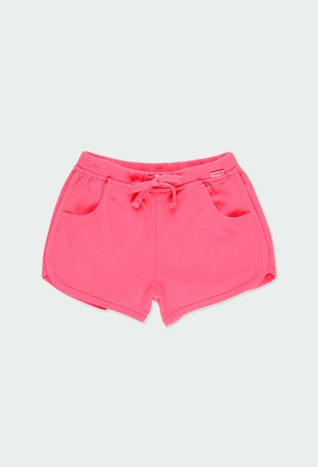Knit shorts for girl_1