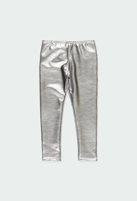 Leggings en simili cuir pour fille_1