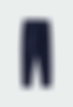 Stretch corduroy leggings for girl