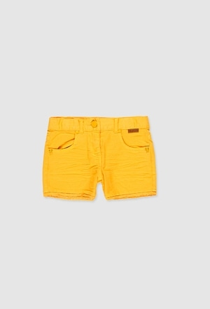 Stretch twil shorts for girl_1