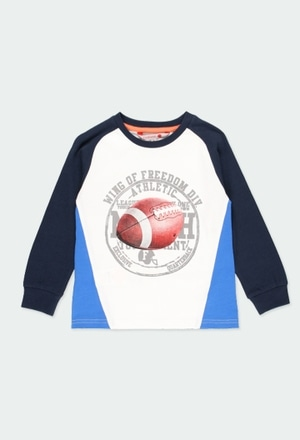 """Camiseta punto """"rugby"""" de niño_1"""