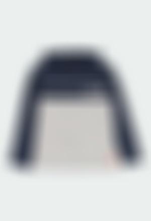Camiseta punto con capucha de niño