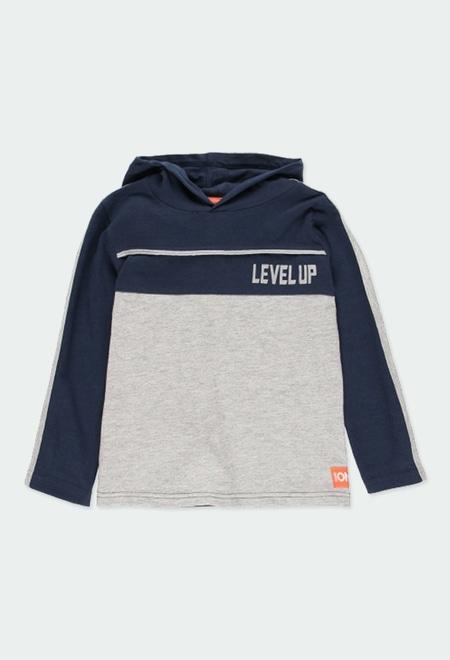 T-Shirt a capuche pour garçon_1