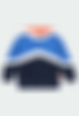 Sweat-Shirt plüsch mit mütze für junge