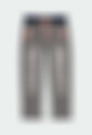 Pantalón denim punto elástico de niño