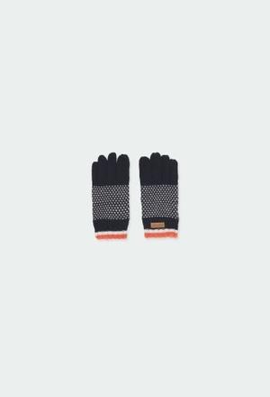 Strick handschuhe für junge_1