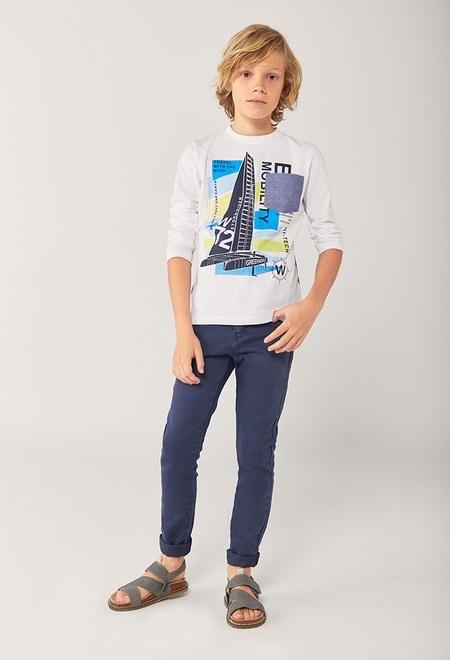 """Camiseta punto """"catamarán"""" de niño_1"""
