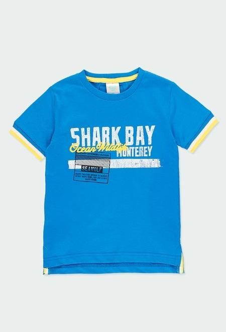 "Camiseta punto ""ocean"" de niño_1"