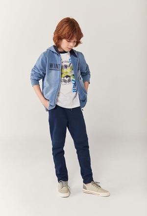 """Camiseta punto """"tiburón"""" de niño_1"""
