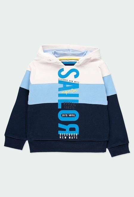 Sweatshirt felpa com capuz para menino_1