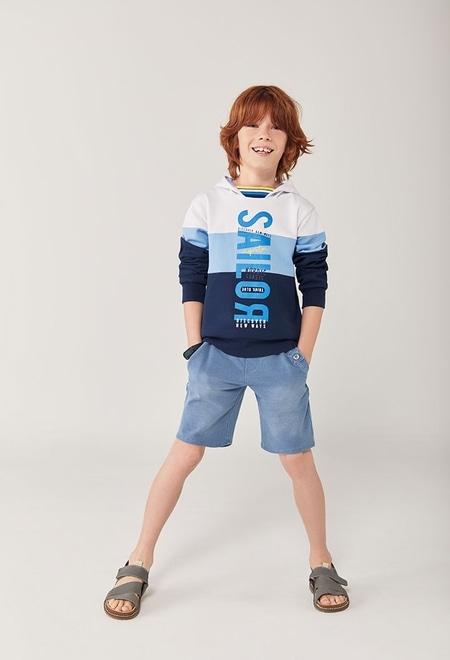 Sudadera felpa con capucha de niño_1