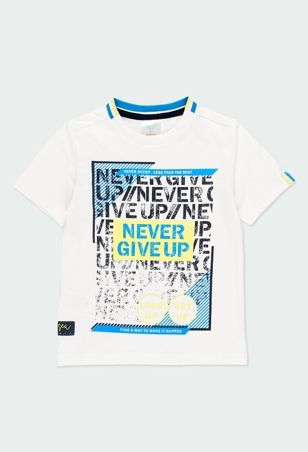 Knit t-Shirt short sleeves for boy_1