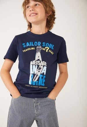"Camiseta punto ""sailor"" de niño_1"