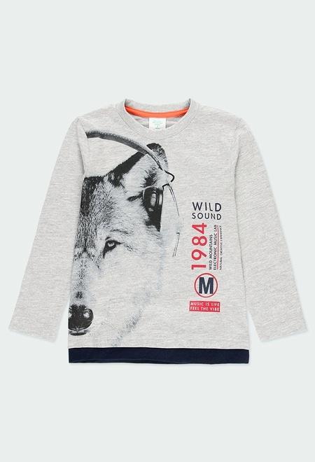 """T-Shirt gestrickt """"bbl music"""" für junge_1"""