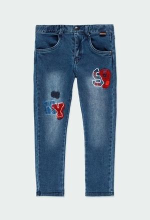 Jeans maille pour garçon_1