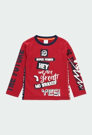 """T-Shirt gestrickt """"new york 1845"""" für junge_1"""