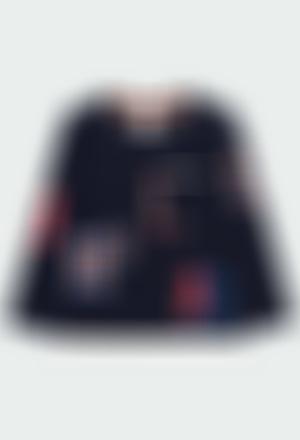 """Camiseta punto """"escudos"""" de niño"""
