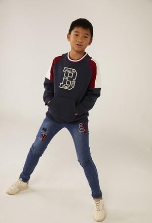 Sweatshirt knit fantasy for boy_1