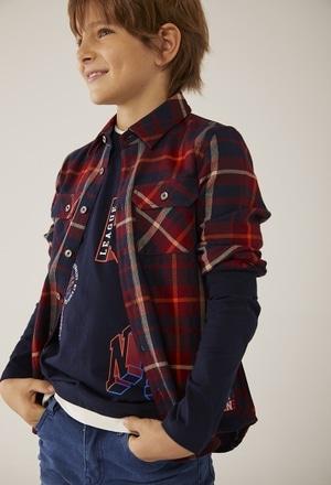 Camicia quadri per ragazzo_1