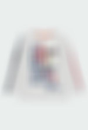 "Knit t-Shirt ""84"" for boy"