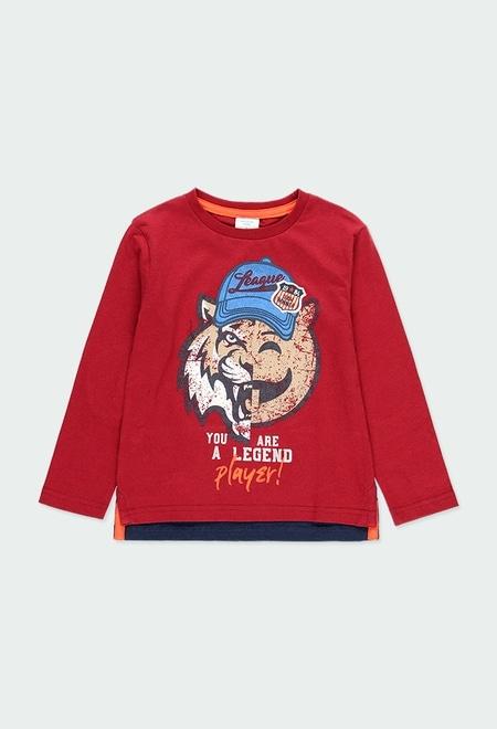 """Camiseta punto """"league"""" de niño_1"""