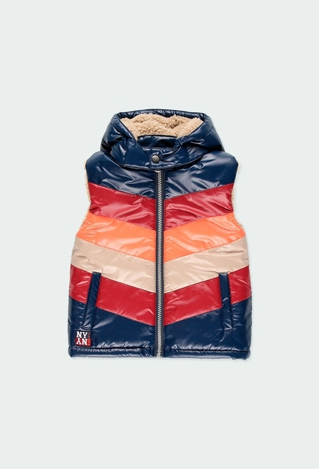 Technical fabric vest for boy_1